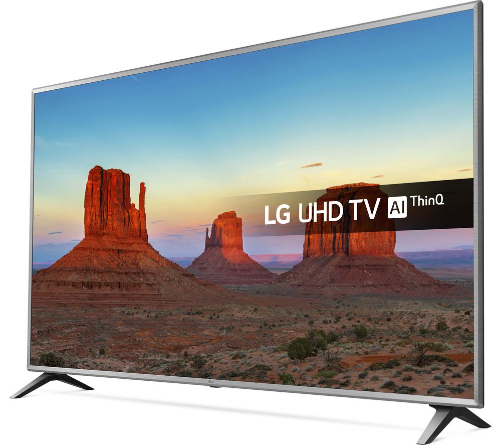 Lot 16518 - + VAT Grade A LG 65 Inch ACTIVE HDR 4K SUPER ULTRA HD NANO LED SMART TV WITH FREEVIEW HD & WEBOS &