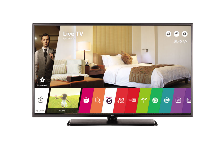 Lot 16013 - + VAT Grade A LG 49 Inch 4K ULTRA HD IPS COMMERCIAL TV WITH FREEVIEW HD & WEB OS & WIFI 49UW761H