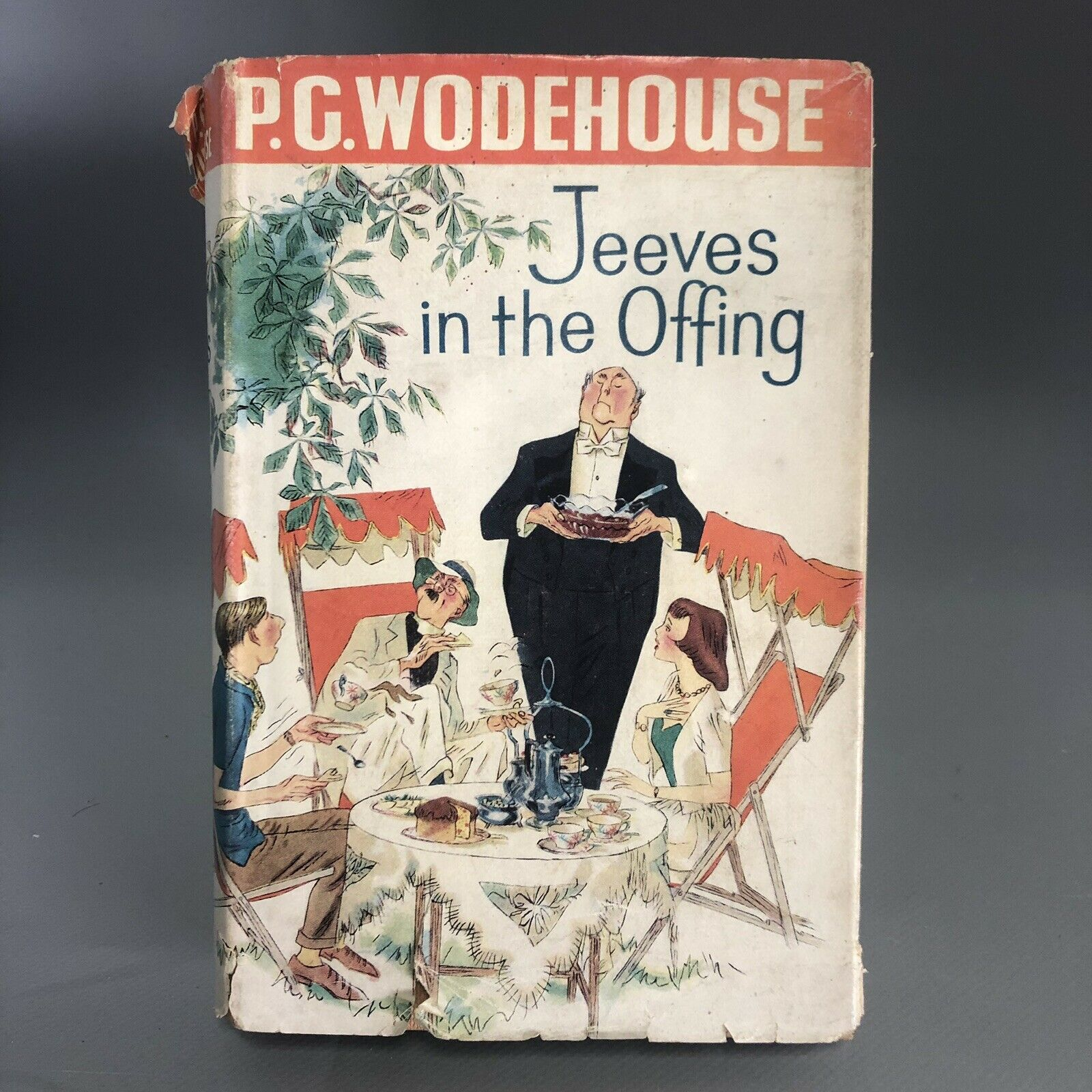 Lot 3 - 1960 P.G. Wodehouse Jeeves in the Offing First Edition with Dust Jacket