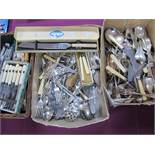 A Mixed Lot of Assorted Plated Cutlery, including boxed sets, etc.