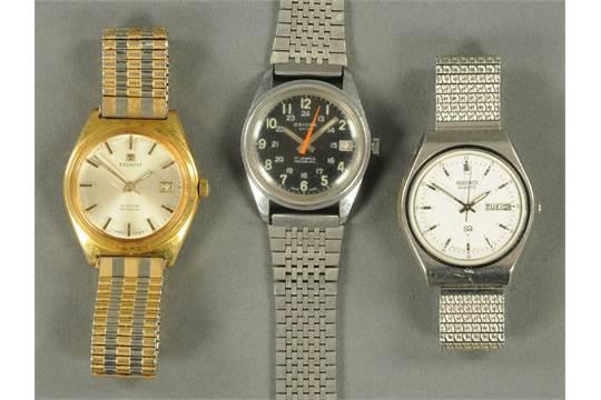 A vintage gentleman's Tissot wristwatch, and an Oriosa