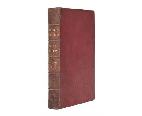 Bewick (Thomas). A General History of Quadrupeds, 1st edition , Newcastle Upon Tyne: Printed by and for S. Hodgson, R. Beilby