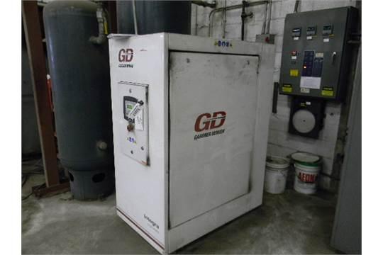 Gardner Denver Air compressor, Model EFC99J, 25Hp Electrical