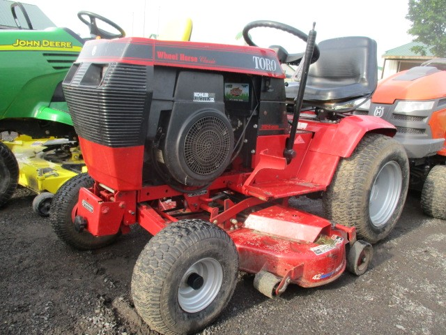 Lot 448a Toro Wheel Horse 312 8 Sd 42 Deck