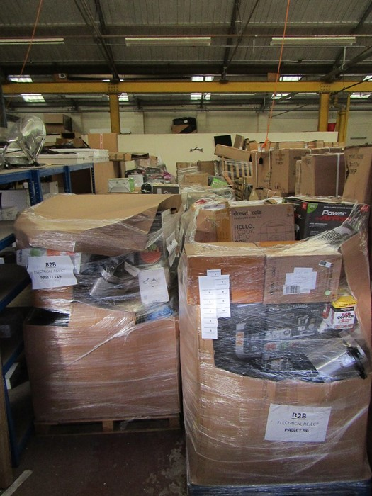 | 1x | PALLET OF UNMANIFESTED RAW CUSTOMER RETURN KITCHEN ELECTRICALS, TYPICAL CONTENTS ARE