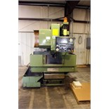 "CNC VERTICAL MACHINING CENTER, KIA MDL. KV40A-0MB, new 11/1989, Fanuc OM-B CNC control, 24"" x 14"""