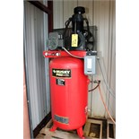Lot 12 - AIR COMPRESSOR, HUSKY PRO, 80 gal. tank, 7-1/2 HP motor, 175 max. PSI (Location A)