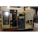 "CNC HORIZONTAL MACHINING CENTER, OKUMA-HOWA MDL. MILLAC-4H, new 10/1981, Fanuc 6M CNC control, 20"" x"