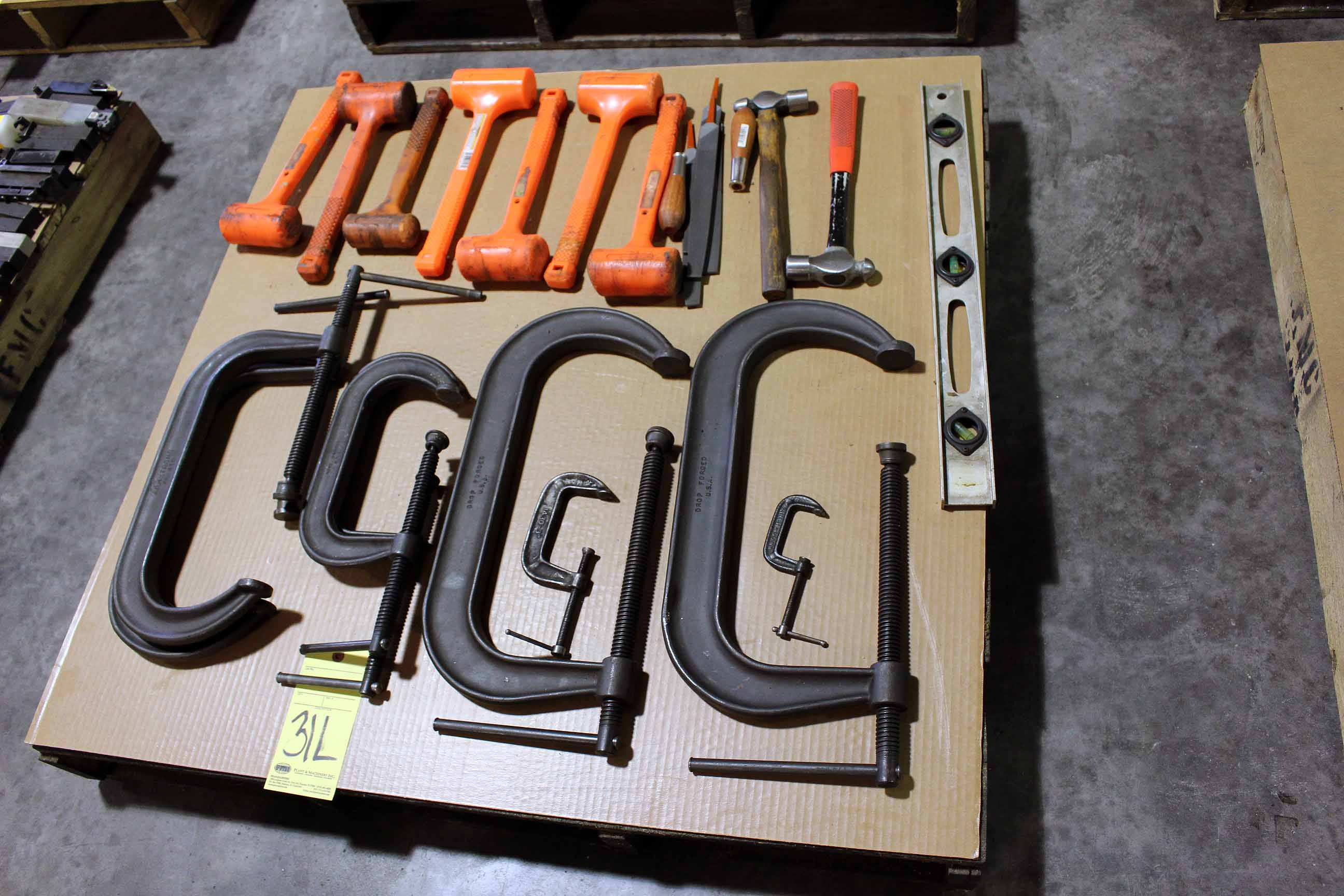 Lot 31L - LOT OF CLAMPS & DEAD BLOWS (Location A)
