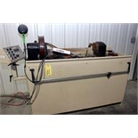 Lot 11 - MAGNETIC PARTICLE INSPECTION MACHINE, MAGWERKS MDL. PSAH-545 WET MAG TYPE, w/full enclosure, 4,000