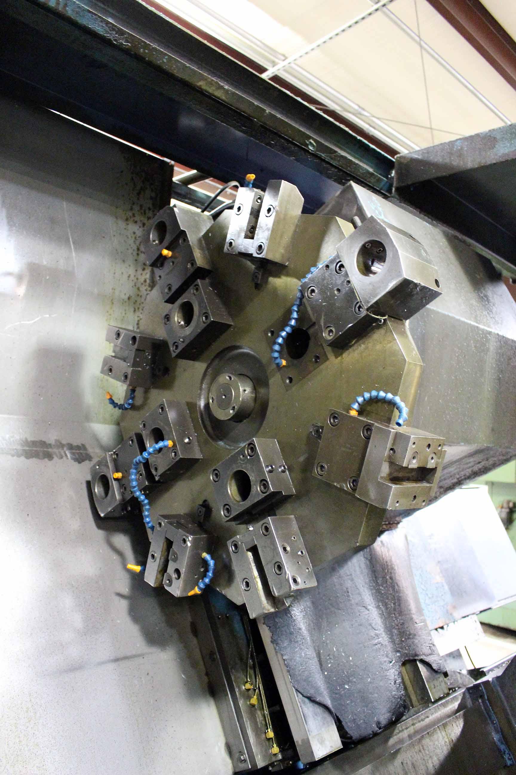 "Lot 9 - CNC LATHE, PRATT & WHITNEY MDL. STARTURN 1800, Mitsubishi Meldas 50 (M50) Series CNC control, 18"""