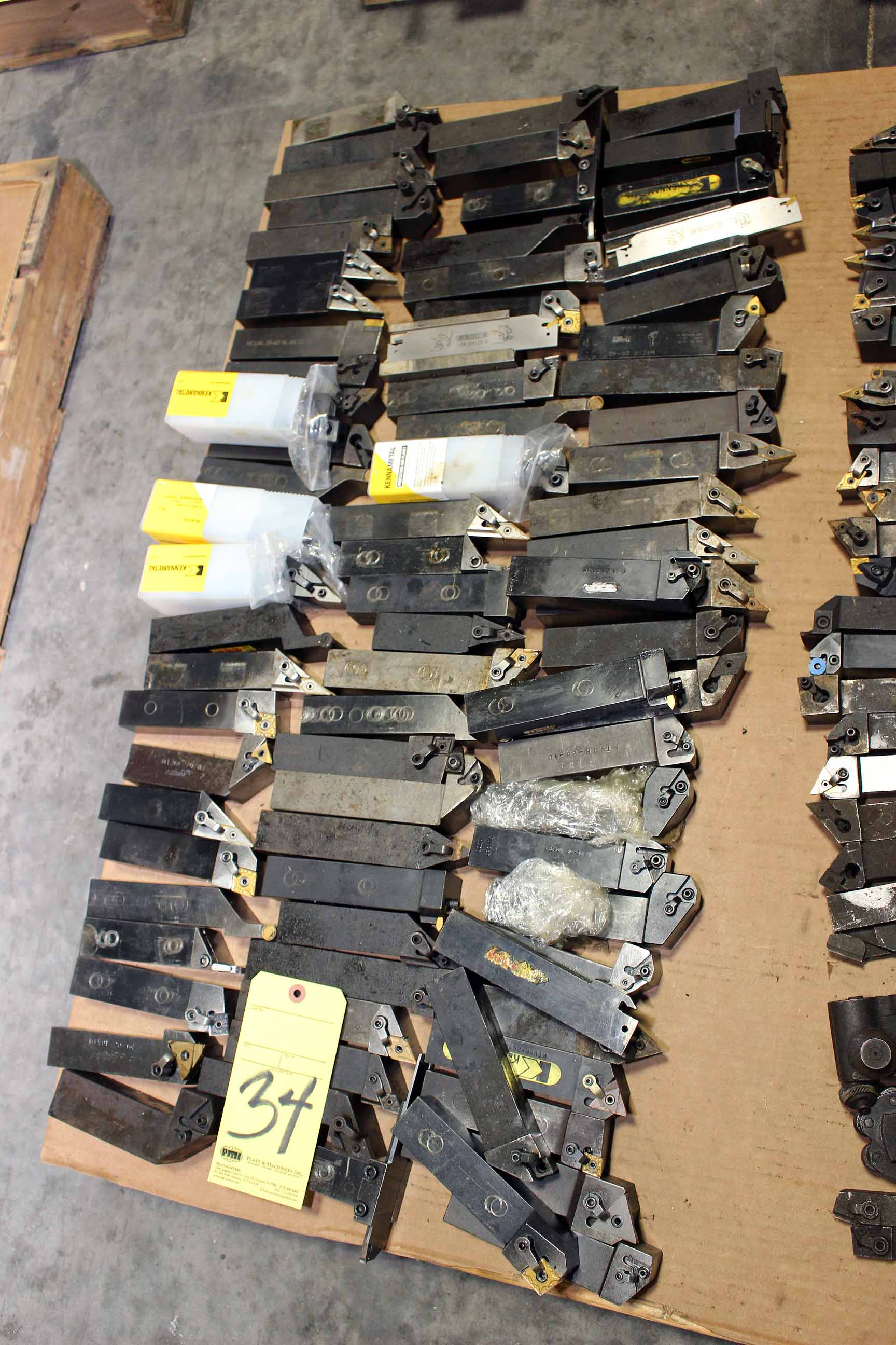 "Lot 34 - LOT OF TOOLHOLDERS, 1-1/4"" sq. (Location A)"
