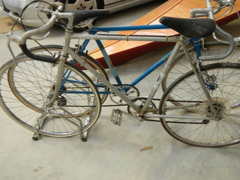 Lot 733 - A 1960's Viking Superstar racing bike.