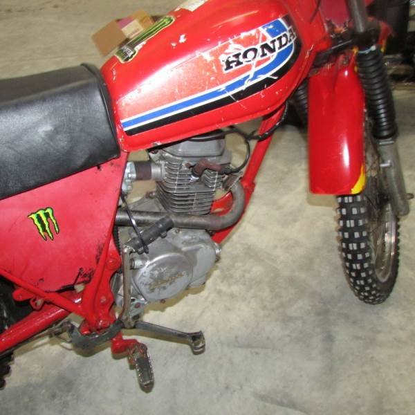 Lot 737 - A 1979 Honda XL100S trials bike.