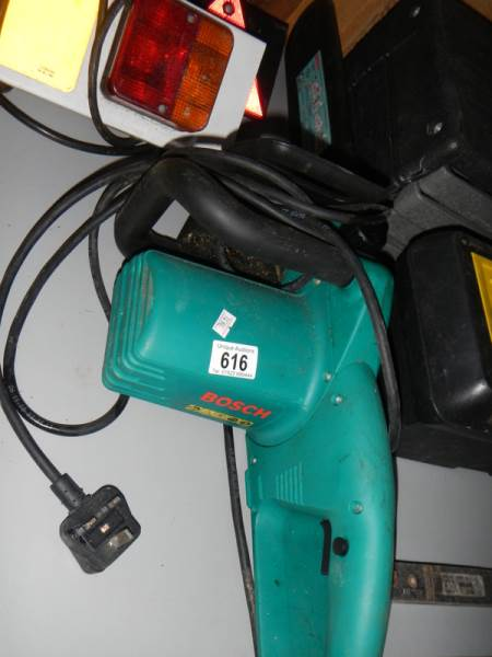 Lot 616 - A Bosch AKE 35-195 chain saw.