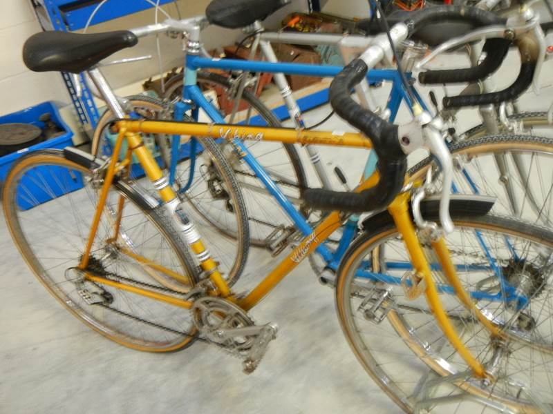 Lot 731 - A 1960's Viking racing bike.