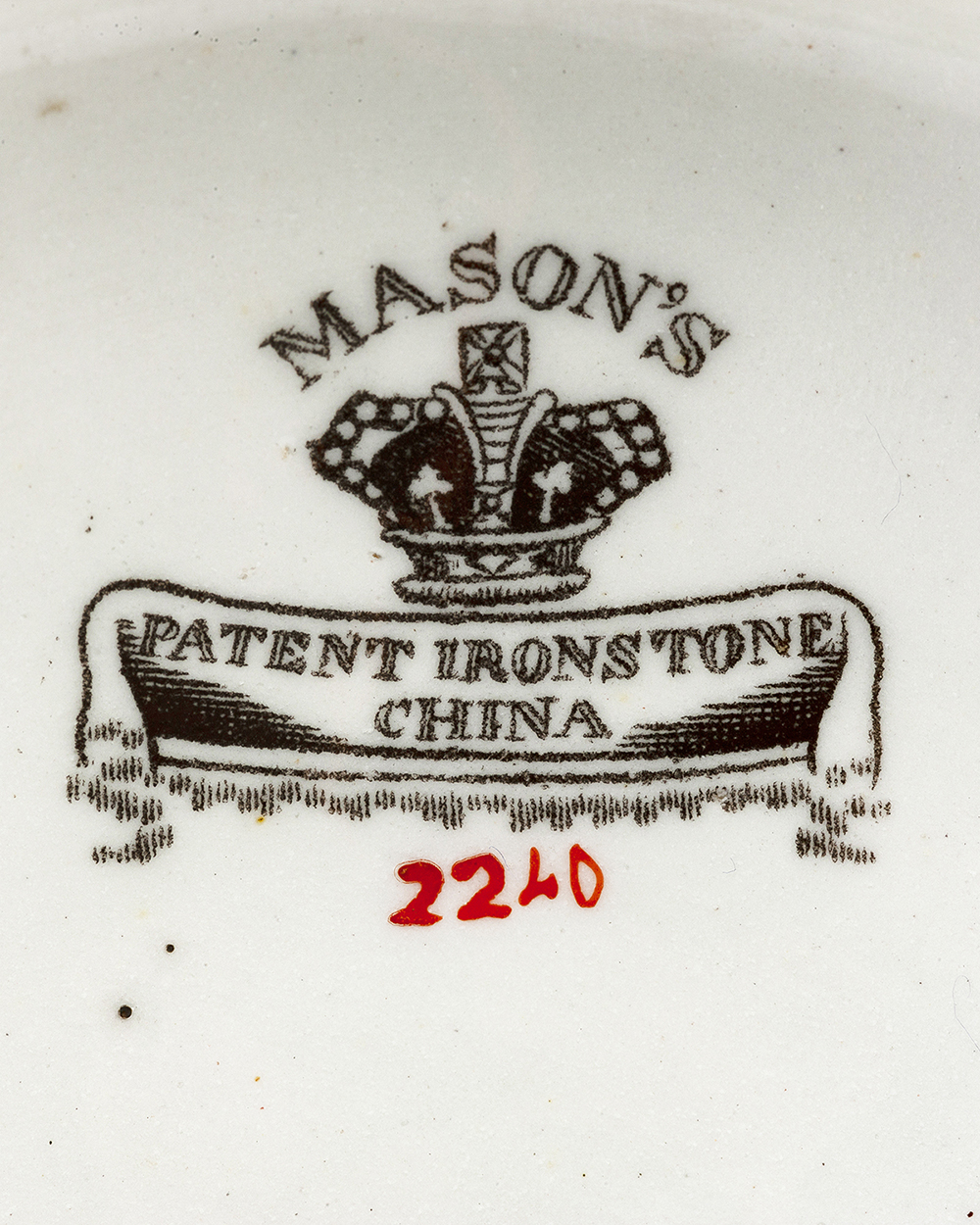 Lot 1026 - Two Mason's Ironstone tureens