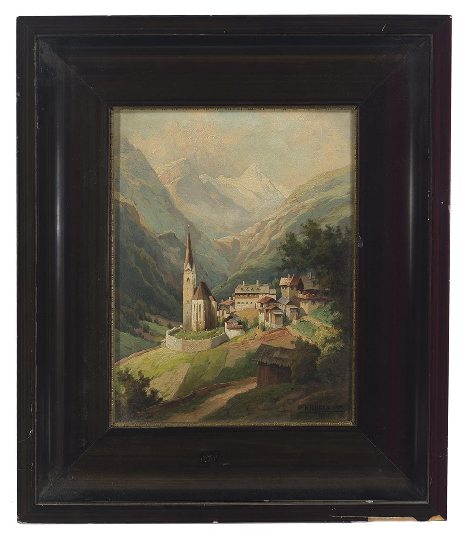 Lot 1028 - Karl Flieher (1881-1958 Austrian)