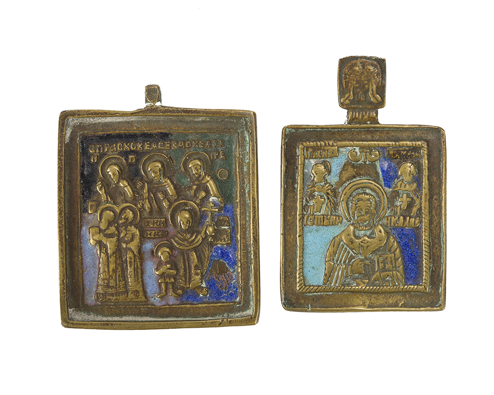 Lot 1042 - Four religious icons