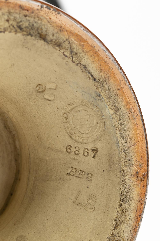 Lot 1023 - A pair of Royal Doulton porcelain vases