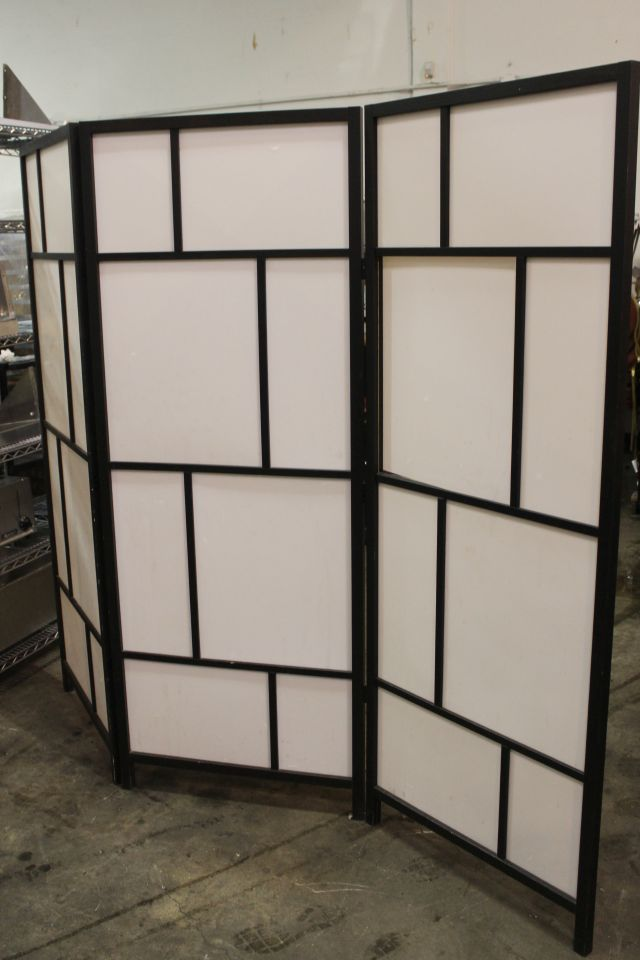3 section room divider