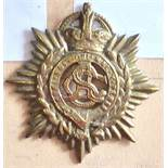 New Zealand - The New Zealand Army Service Corps - Brass KC