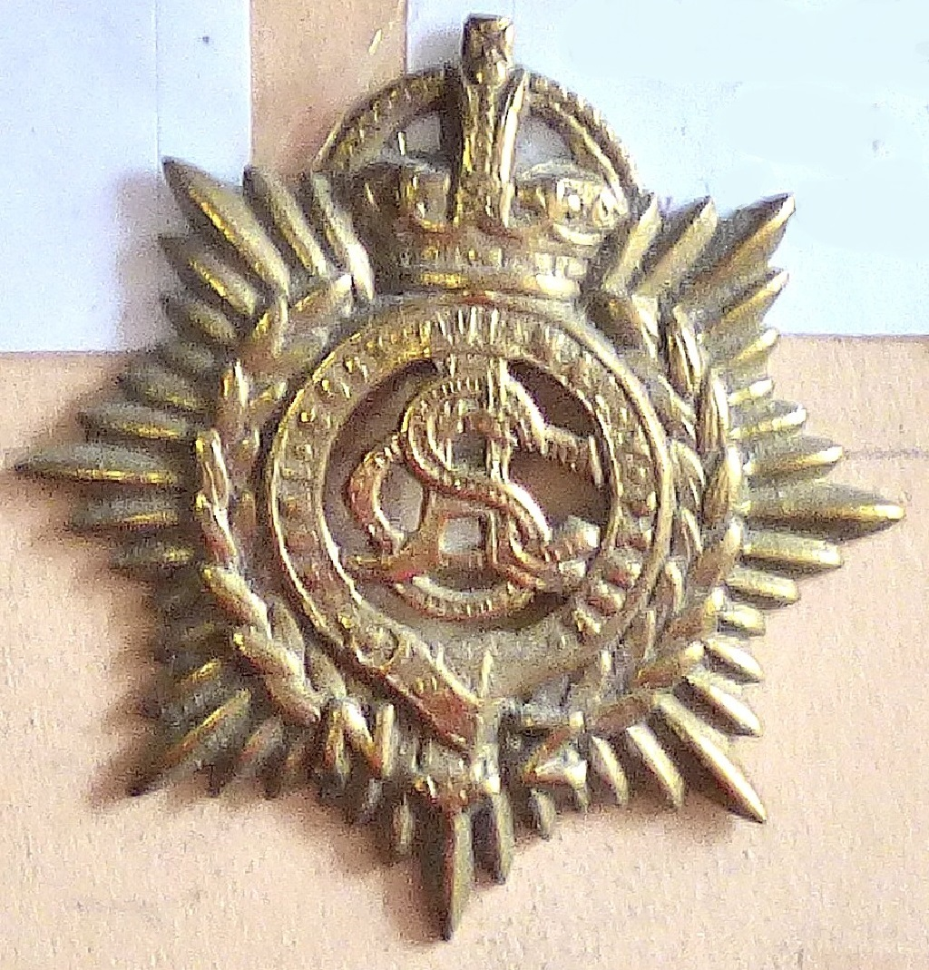 Lot 539 - New Zealand - The New Zealand Army Service Corps - Brass KC