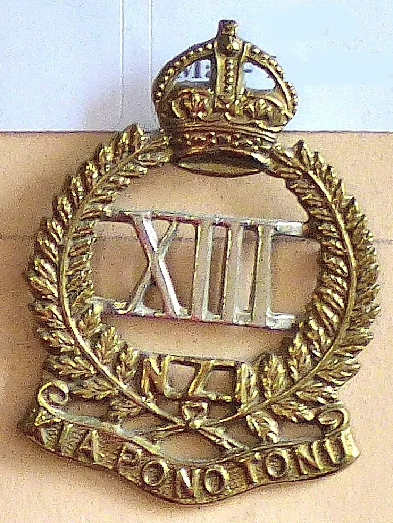 Lot 530 - New Zealand - 13th (North Canterbury) Regiment - Bi-Metal KC