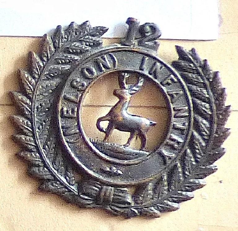 Lot 528 - New Zealand - 12th (Nelson) Regiment - Blackened Brass