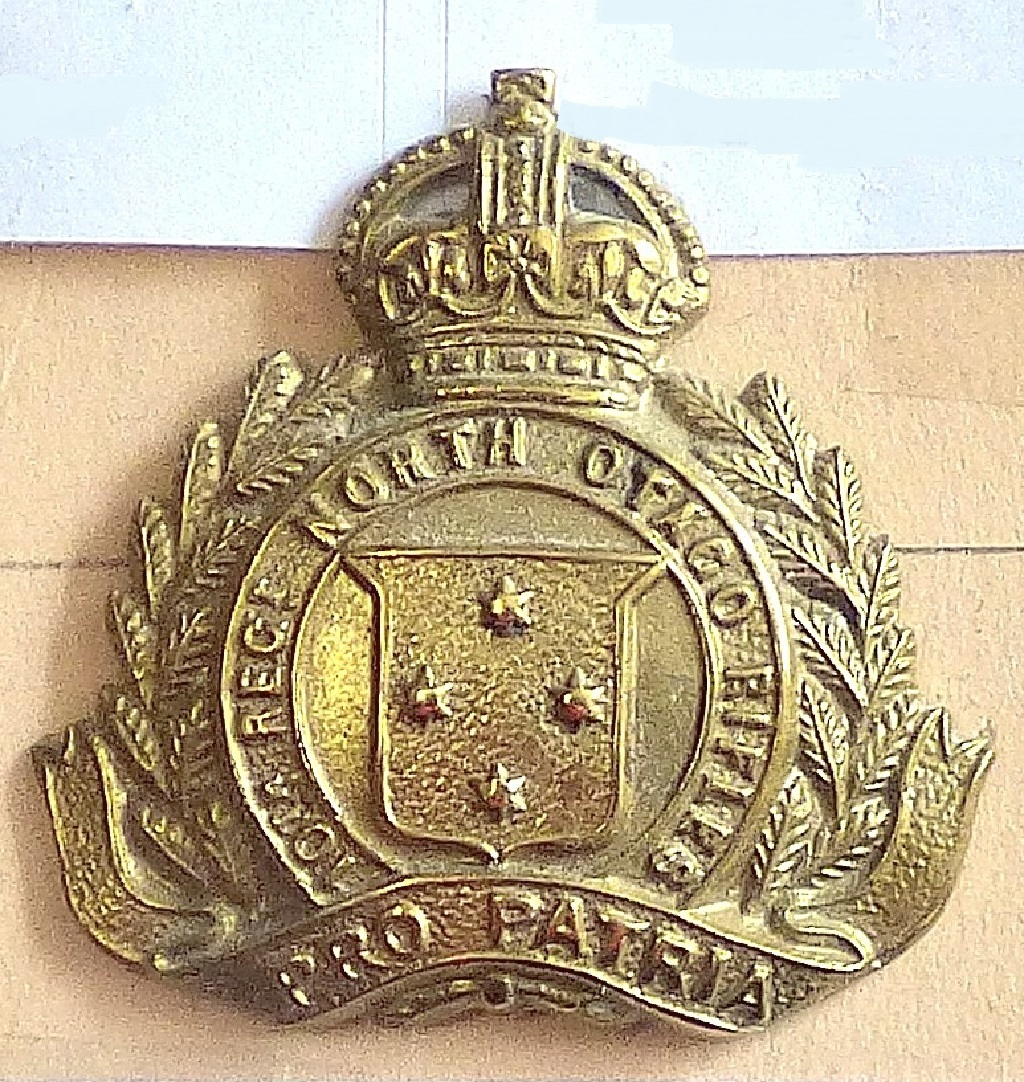 Lot 526 - New Zealand - 10th (North Otago Rifles) Regiment Brass