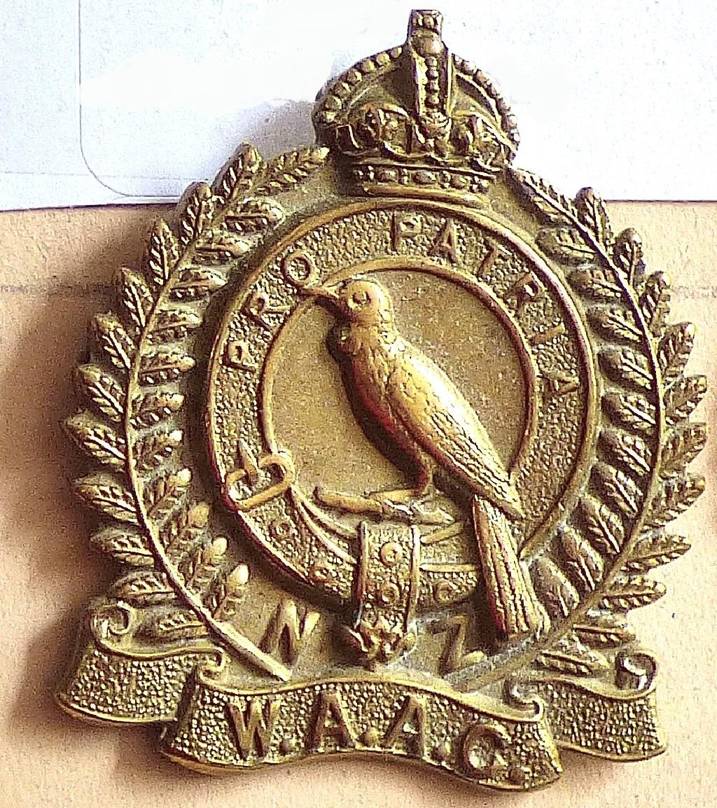 Lot 543 - New Zealand W.A.A.C. Brass QC