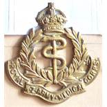 New Zealand - Royal New Zealand Army Medical Corps - Brass, KC