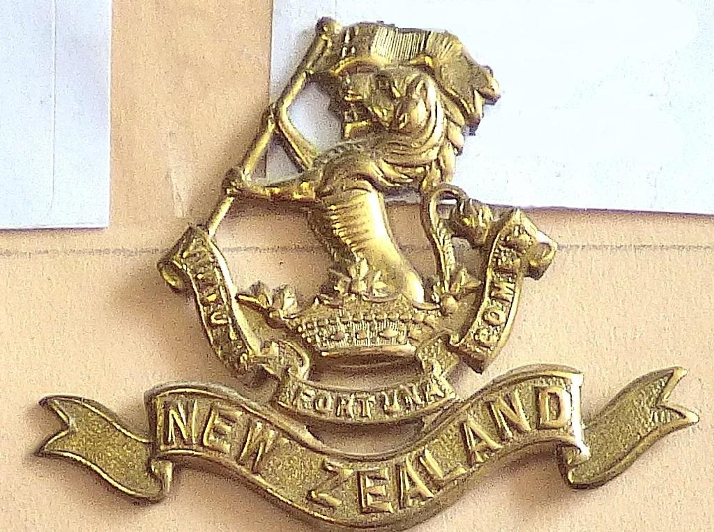 Lot 520 - New Zealand - 5th (Wellington Rifles) Regiment - Brass