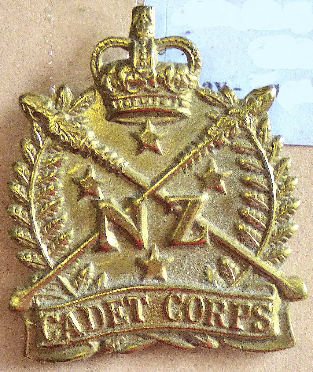 Lot 545 - New Zealand - New Zealand Cadet Corps - Brass QC
