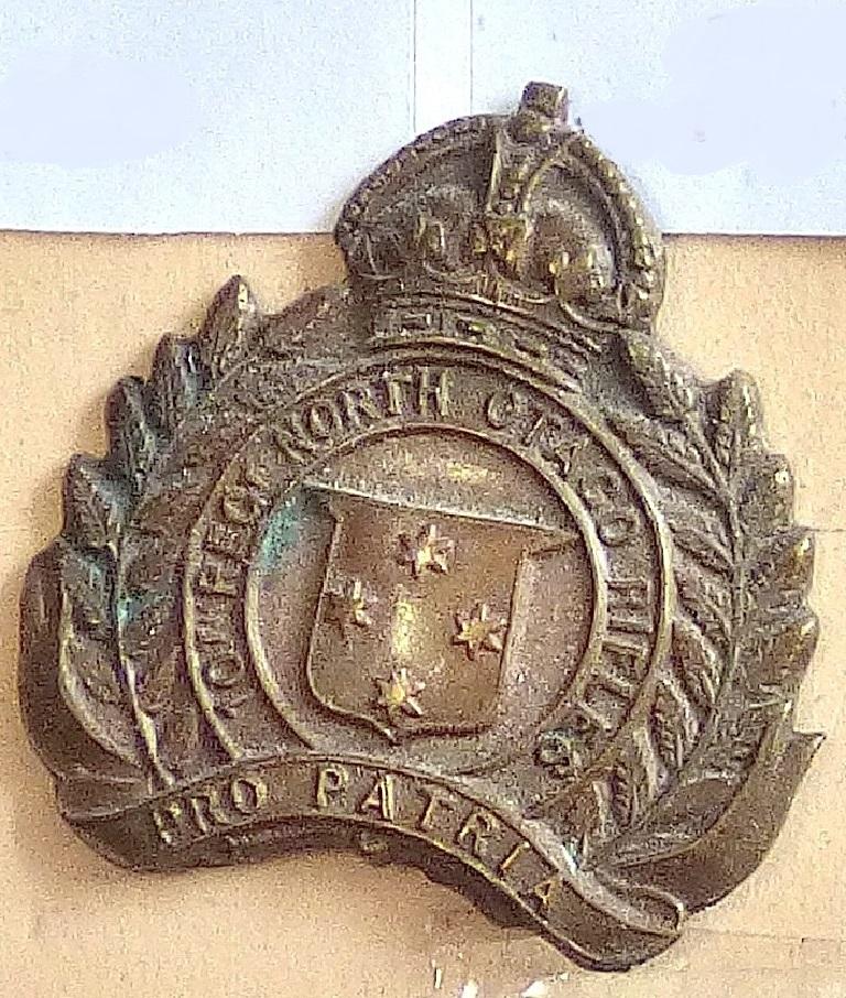 Lot 525 - New Zealand - 10th (North Otago Rifles) Regiment Bronze - Solid KC