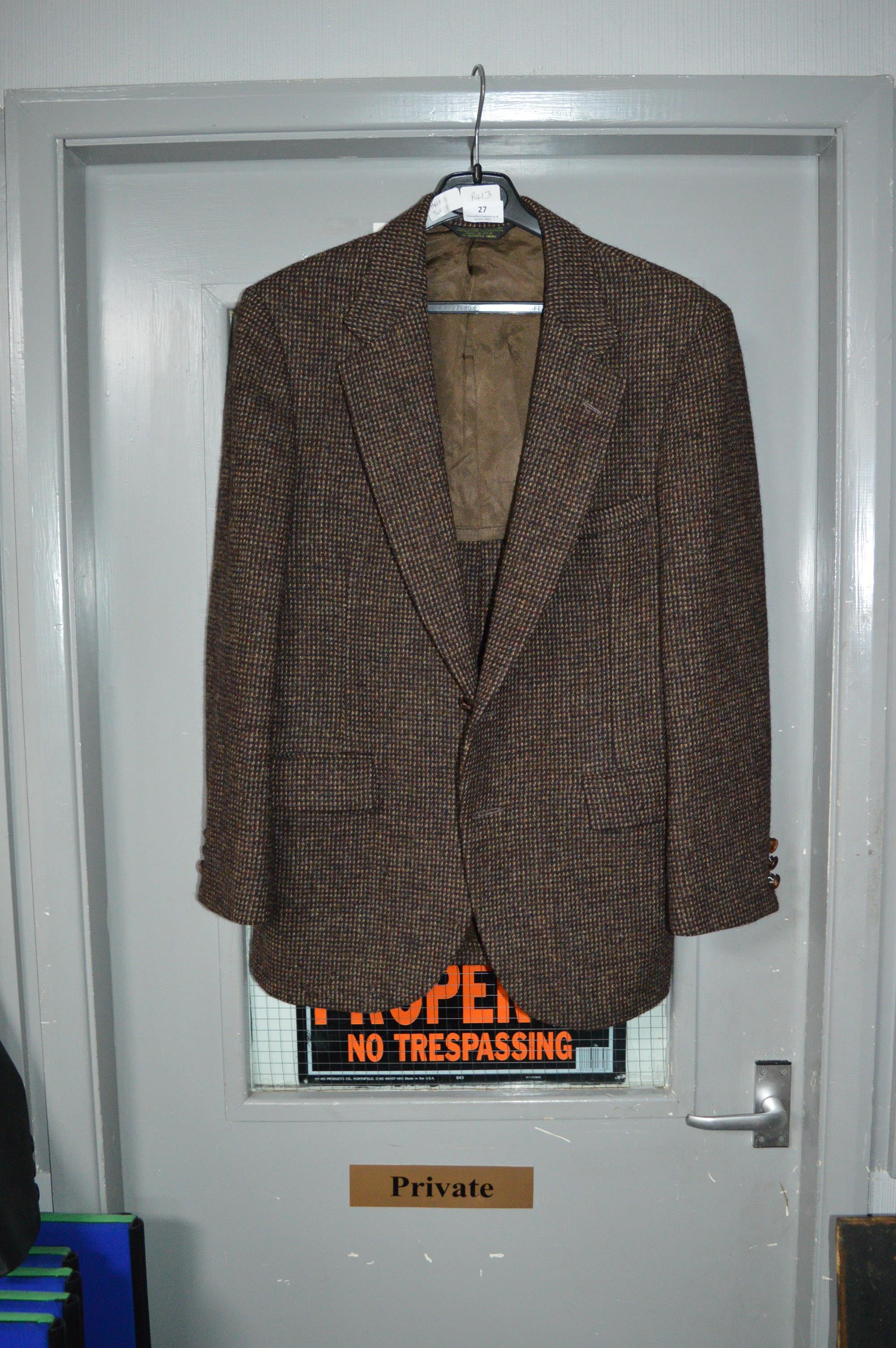 Lot 27 - Harris Tweed Jacket Size:Small
