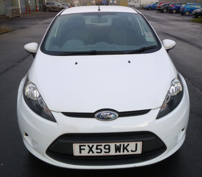 Ford Fiesta 1 2 Zetec 5 Door Hatchback: 2009 Ford Fiesta 68 TDCI, 5 Door Hatchback, Diesel, 1.4L