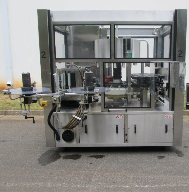 Sacmi Model OPERA 200RF 15-Station Roll Feed Rotary Labeler, S/N: M00251   Load Fee: $250
