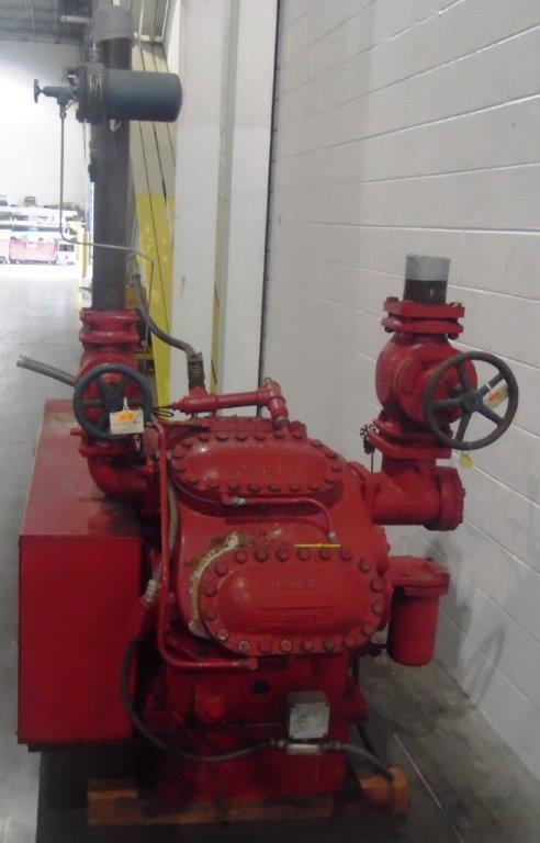 Vilter 100HP Ammonia Compressor, S/N: N/A | Load Fee: $100 - Image 2 of 3