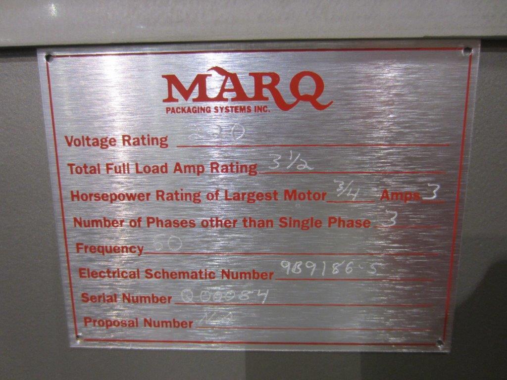 Marq Model HPE/RH/DL Case Bottom Sealer, S/N: Q00084 | Load Fee: $25 - Image 4 of 4