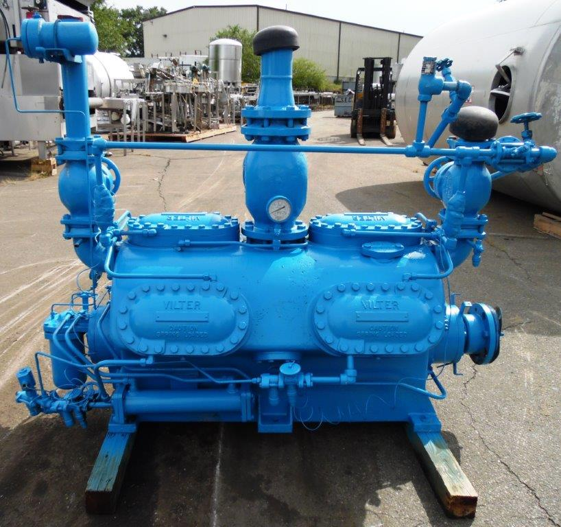 Vilter 250 HP 12 Cylinder Ammonia Compressor, S/N: N/A | Load Fee: $100 - Image 2 of 3