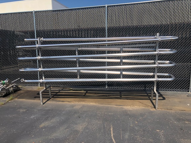 APV Crepaco 125 gpm HTST System, APV R57 P/F Heat Exchanger, S/N: 25598 | Load Fee: $150 - Image 2 of 5