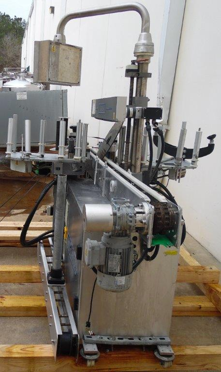 Harland Machine Systems Model Mark 5 Sirius Automatic Labeler, S/N: J31743/01   Load Fee: $100 - Image 3 of 3
