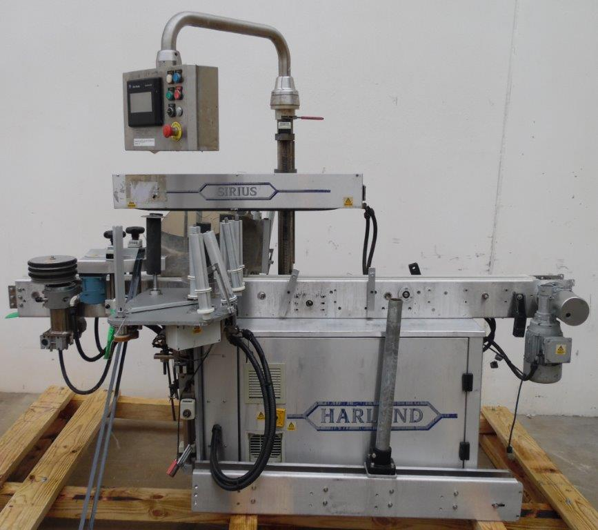 Harland Machine Systems Model Mark 5 Sirius Automatic Labeler, S/N: J31743/01   Load Fee: $100