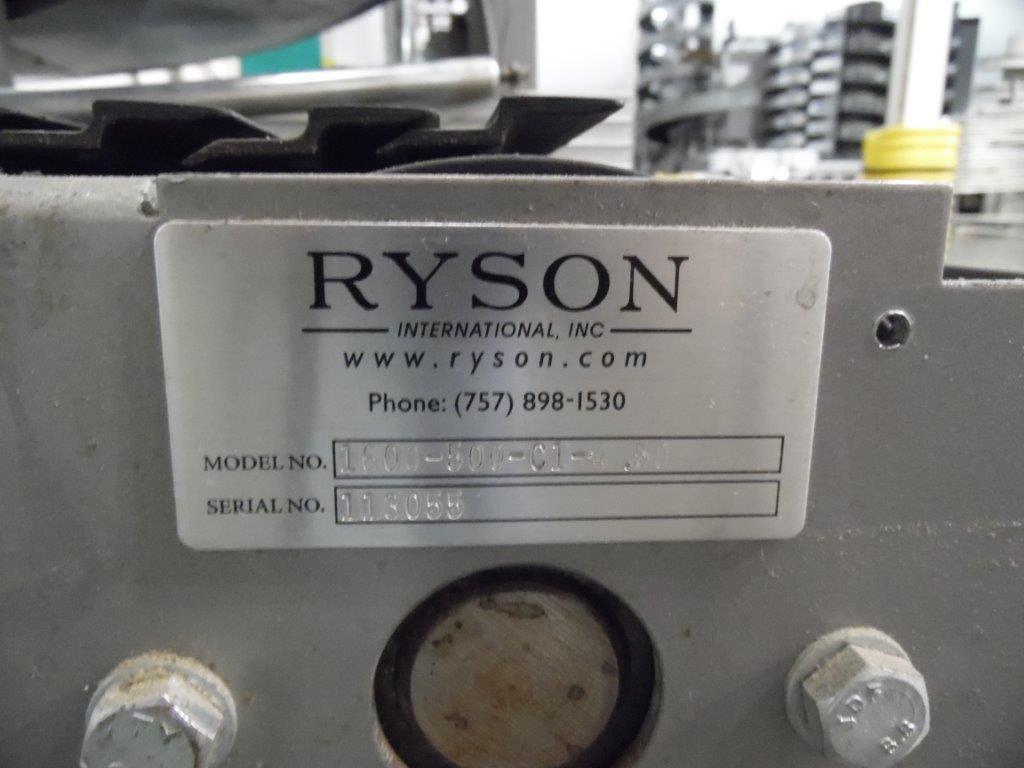 Ryson Model 1600-300-C1-4.50 Spiral Case Elevator, S/N: 113055 | Load Fee: $150 - Image 3 of 3