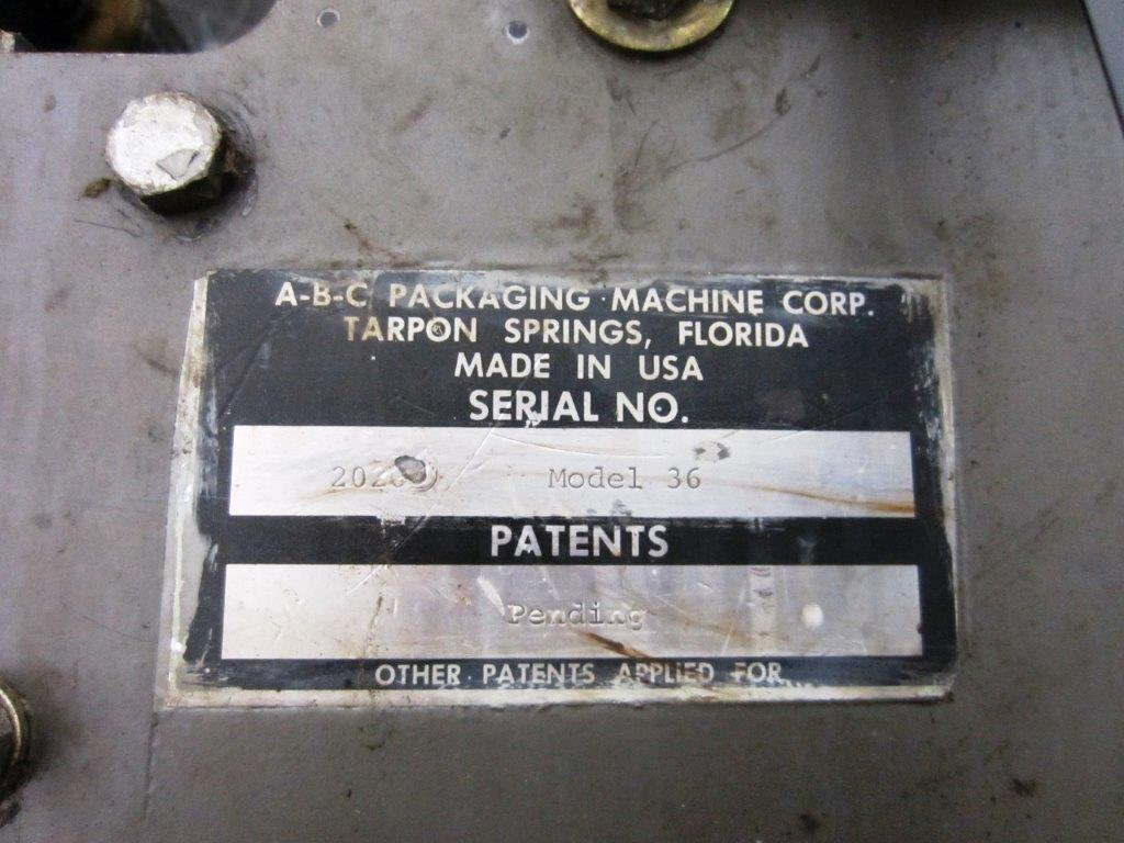ABC Packaging Model 36 Automatic Hot Melt Glue Case Sealer, S/N: 2023 | Load Fee: $25 - Image 4 of 4