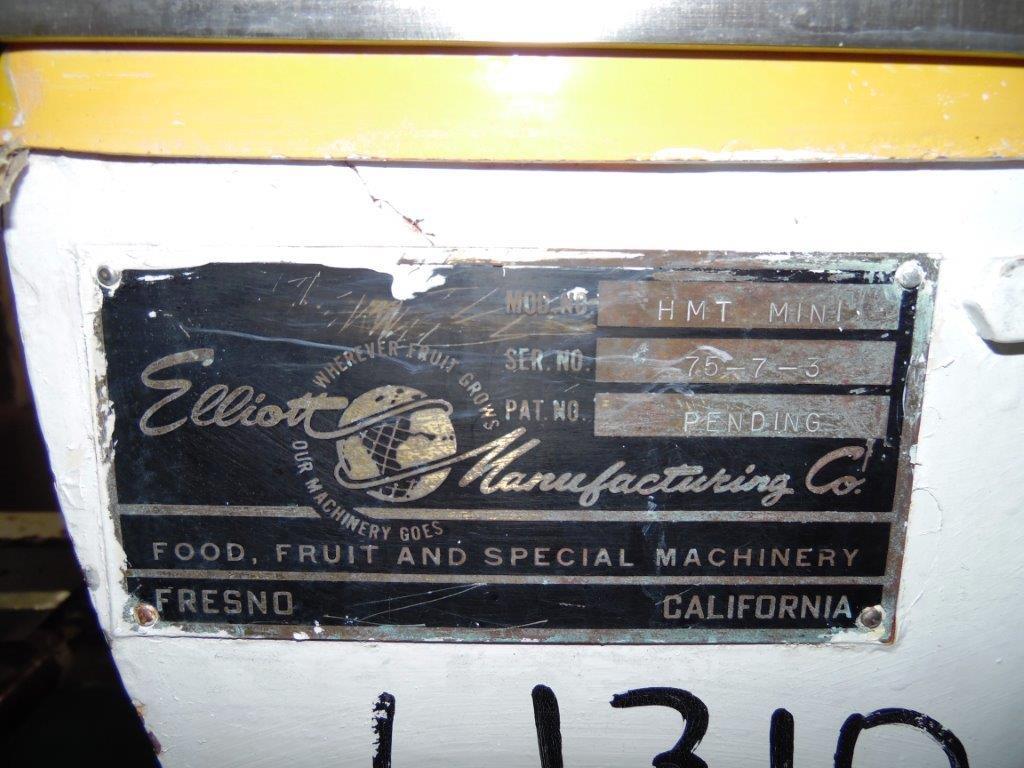 Elliott Model HMT MINI Case Sealer, S/N: 75-7-3 | Load Fee: $25 - Image 4 of 4