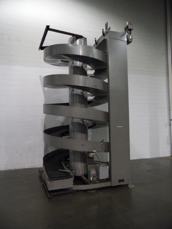 Ryson Model 1600-300-C1-4.50 Spiral Case Elevator, S/N: 113055 | Load Fee: $150