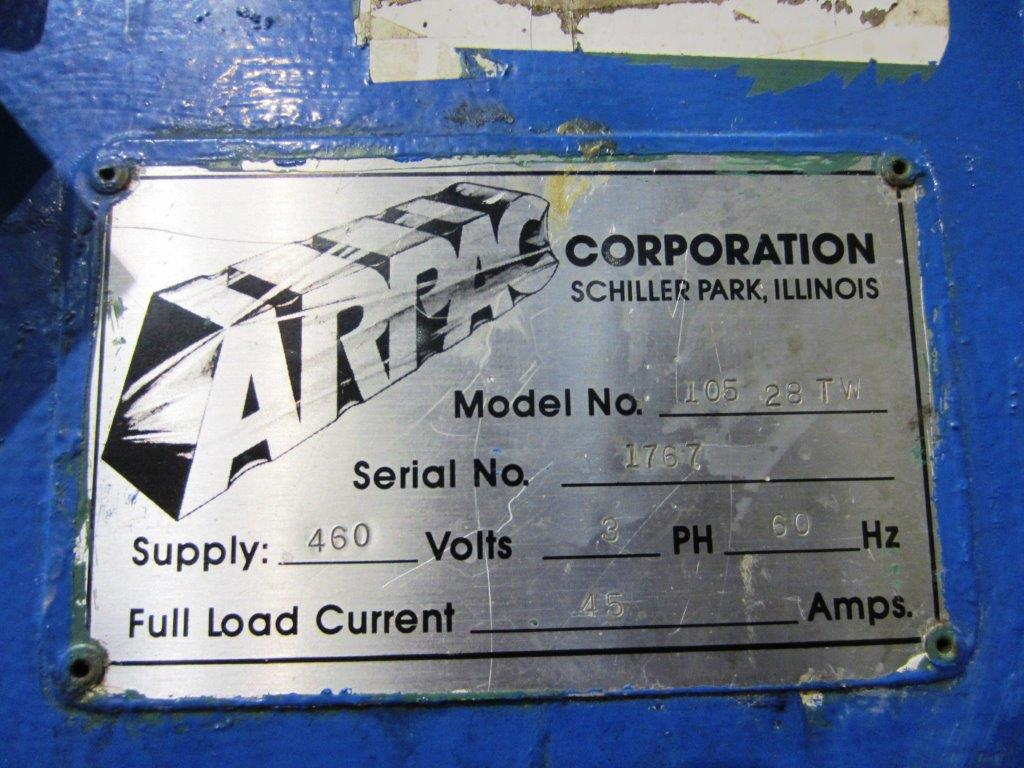 Arpac Model 105 28 TW Tray Shrinkwrapper with Heat Tunnel, S/N: 1767 | Load Fee: $250 - Image 4 of 4