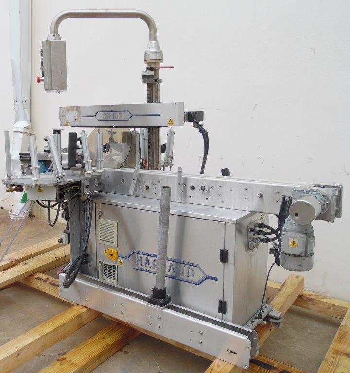 Harland Machine Systems Model Mark 5 Sirius Automatic Labeler, S/N: J31743/01   Load Fee: $100 - Image 2 of 3